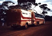 Australian Pacific Tours - Safari Train (click for enlargement)